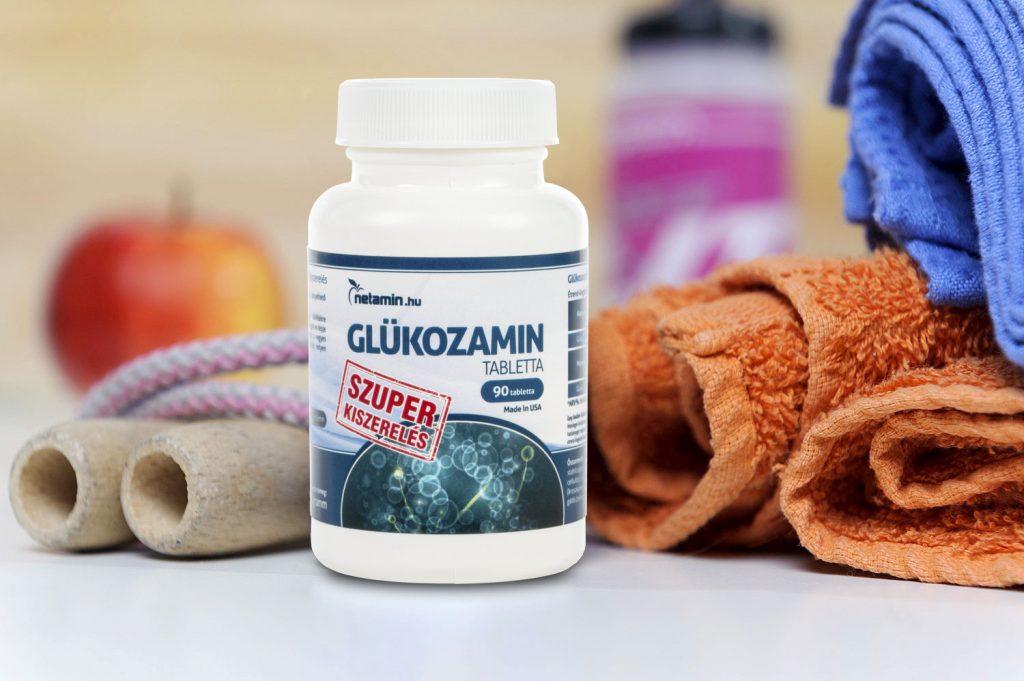 Glükozamin tabletta 60 db - HerbaDoctor - HerbaDoctor Webáruház
