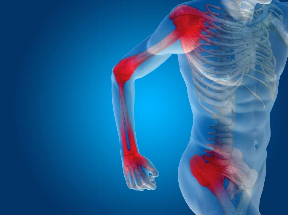 futhat térd artrózisával