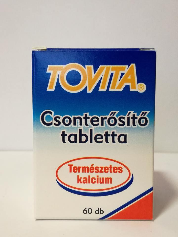 tablettákban előállított készítmények csontritkulás kezelésére forró térdízület