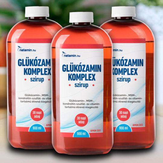 InnoPharm Glükózamin Plus tabletta - 60db - VitaminNagyker webáruház