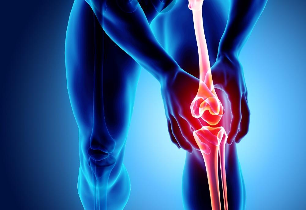 a bal térd krónikus károsodása