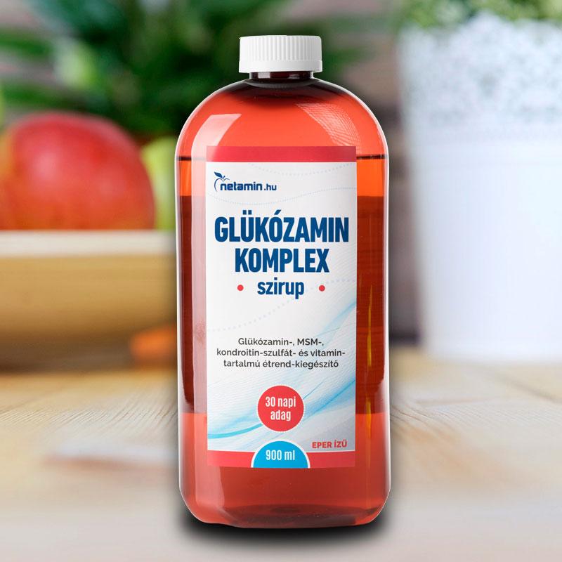 Kondroitin 80 glükózamintablettával. Glükózamin