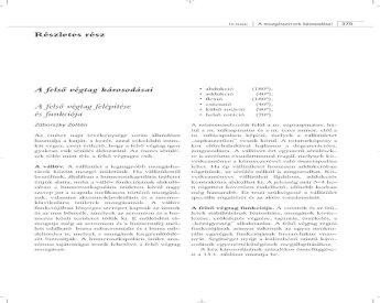 A poszttraumás arthrosis jellemzői és fontos jellemzői - Plex