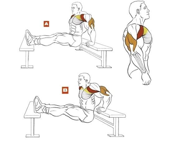 ízületi fájdalom push up-okkal