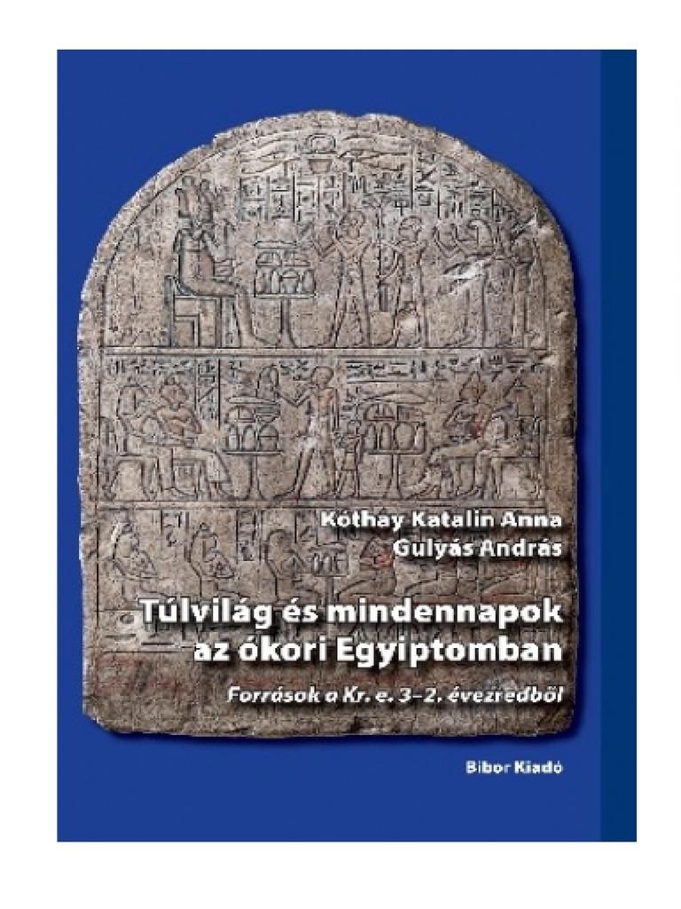 Gyógyszerészet és gyógyszerkészítés az ókori Egyiptomban