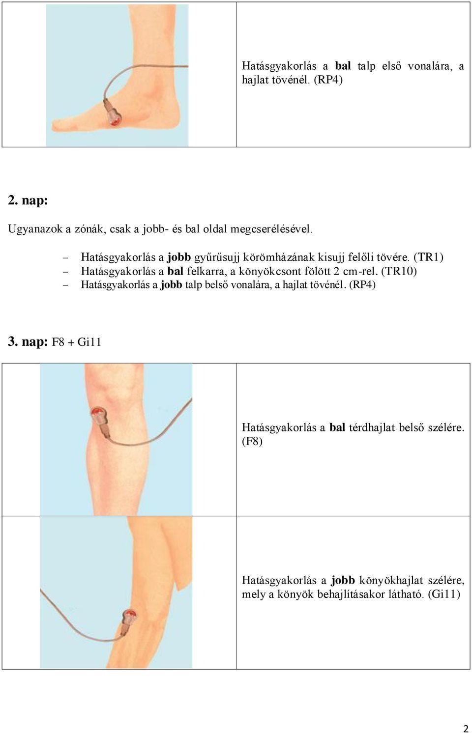 a bal boka ízületi kezelése